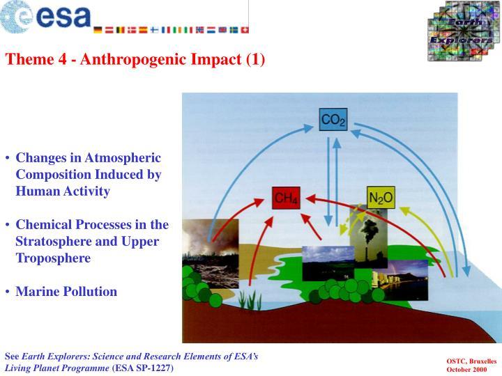 Theme 4 - Anthropogenic Impact (1)