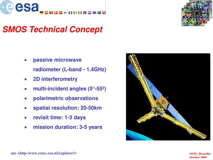 SMOS Technical Concept