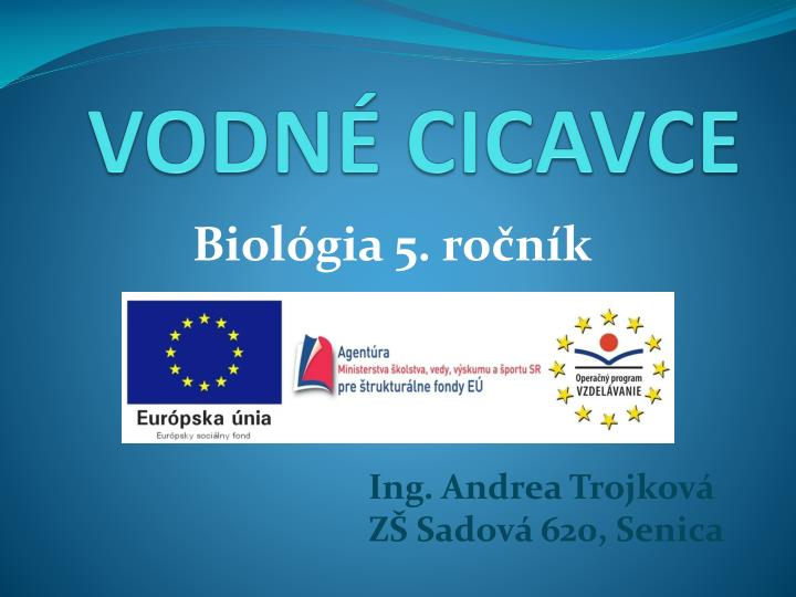 Vodn cicavce