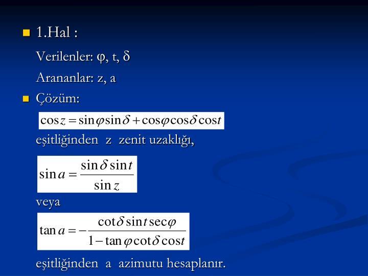 1.Hal :