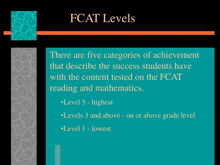 FCAT Levels