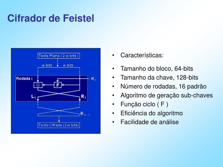 Cifrador de Feistel