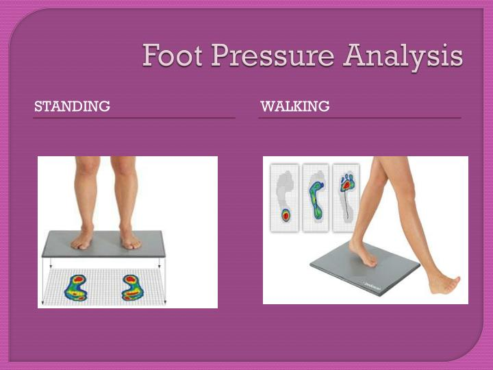 Foot Pressure Analysis