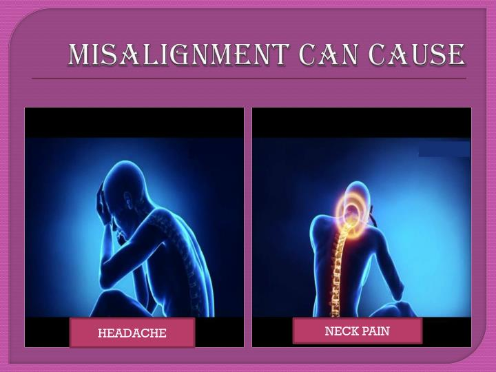 MISALIGNMENT CAN CAUSE