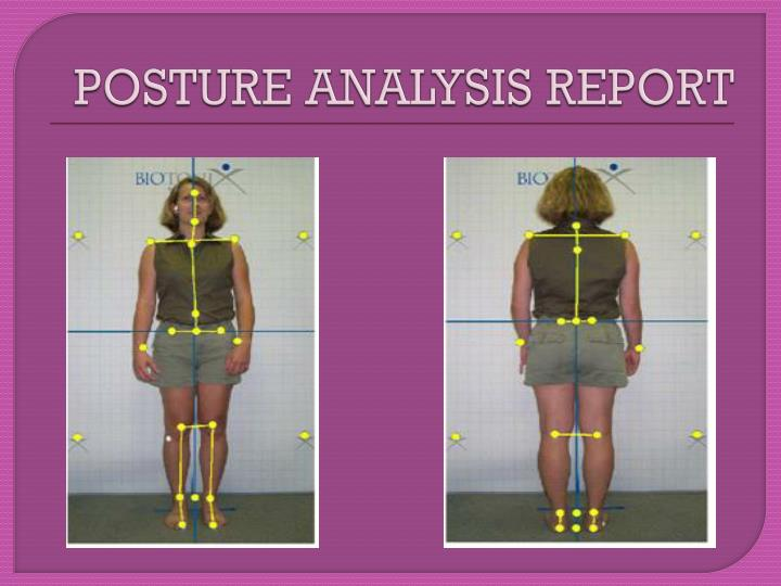 POSTURE ANALYSIS REPORT