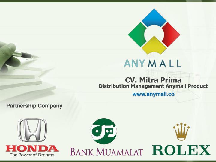 CV. Mitra Prima