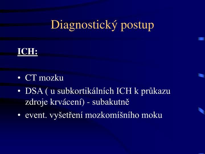 Diagnostický postup