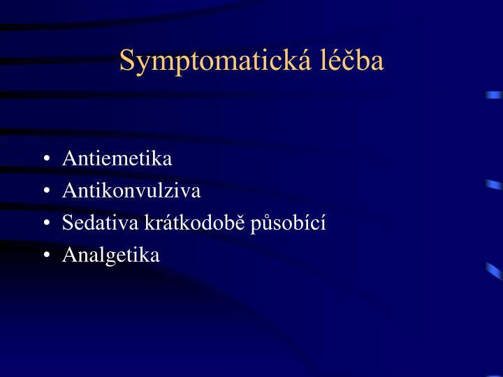 Symptomatická léčba