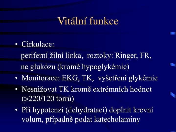 Vitální funkce