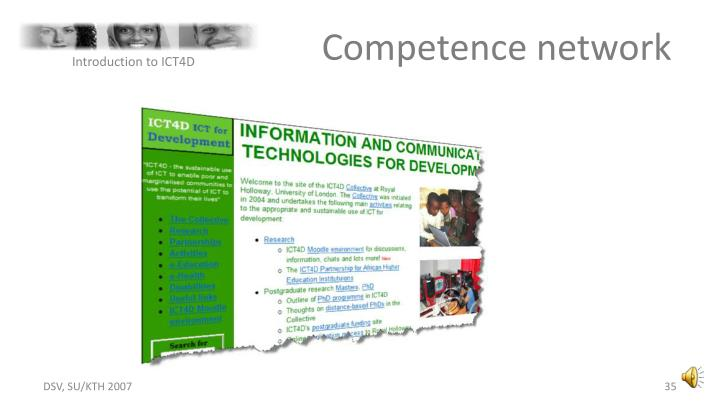 Competence network