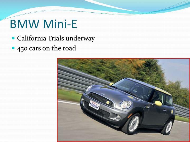 BMW Mini-E