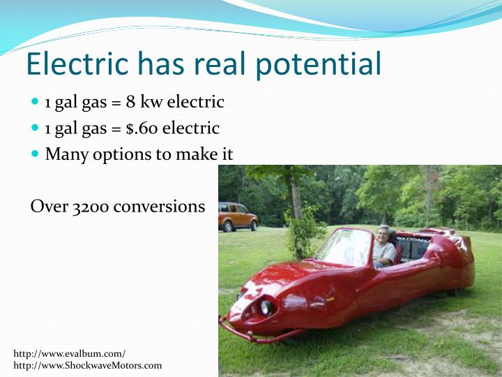 Electric has real potential