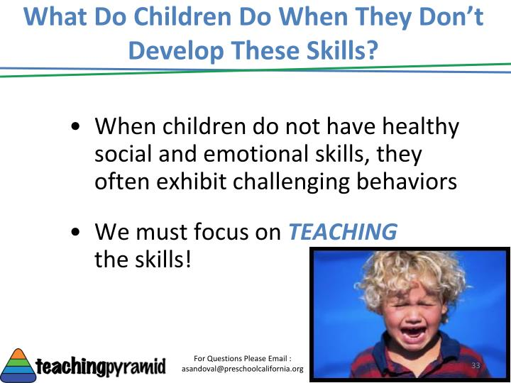 What Do Children Do When They Don't Develop These Skills?