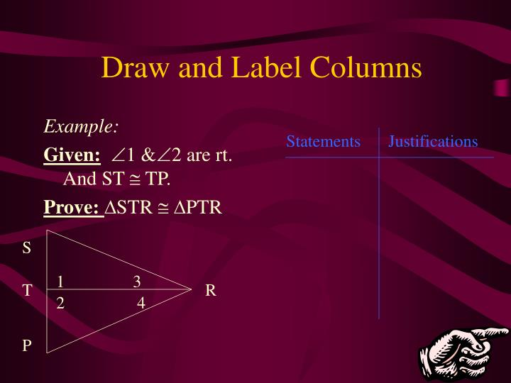 Draw and Label Columns