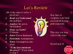 let s review3