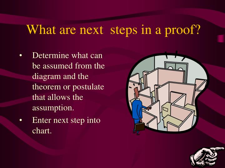 Determine what can be assumed from the diagram and the theorem or postulate that allows the assumption.