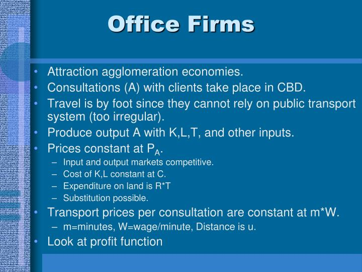 Office Firms