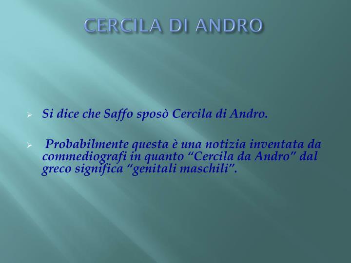 CERCILA