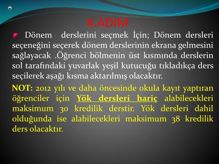 4.ADIM