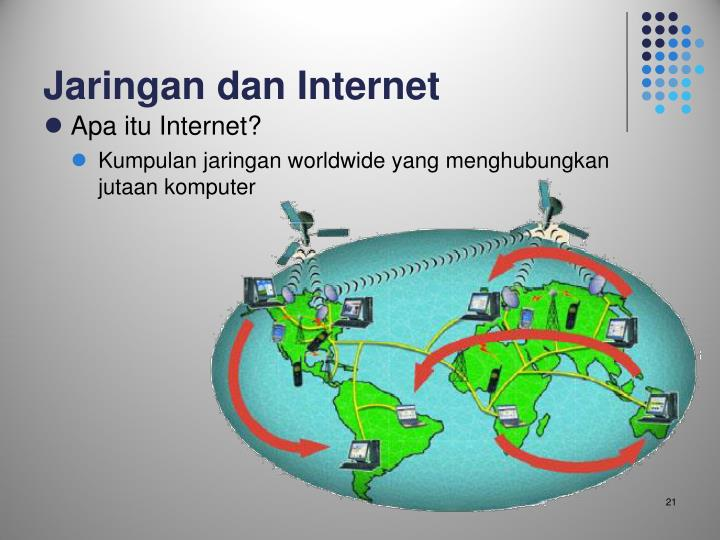 Jaringan dan Internet
