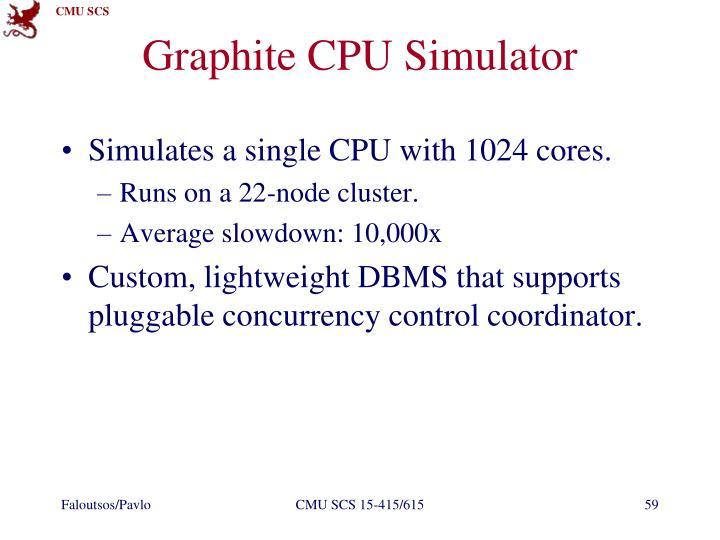 Graphite CPU Simulator