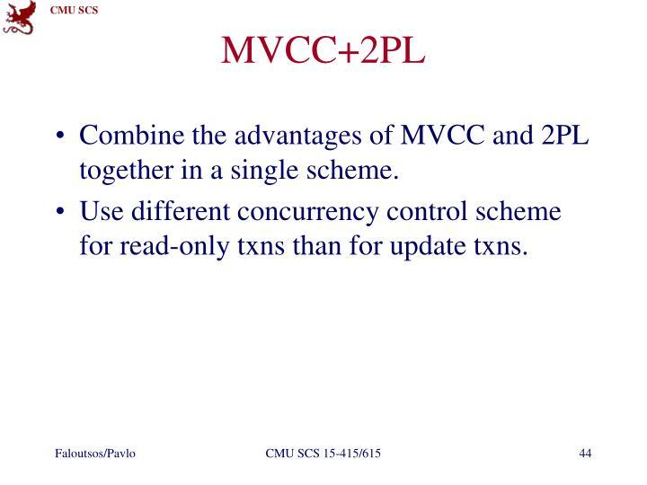 MVCC+2PL