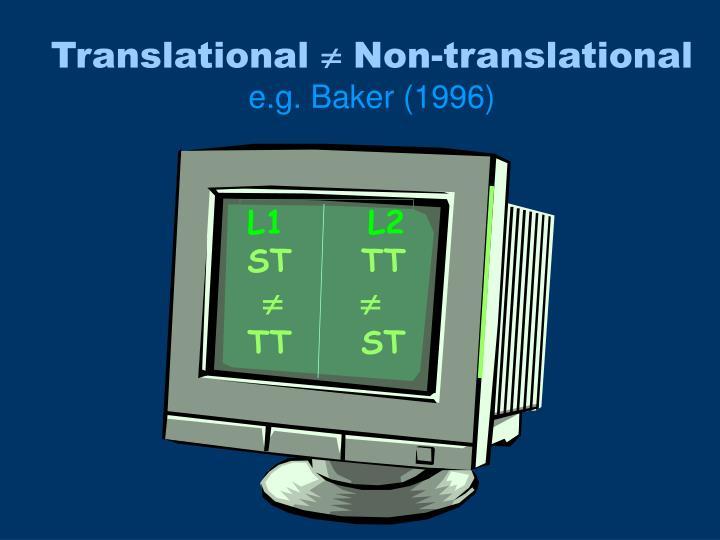 Translational