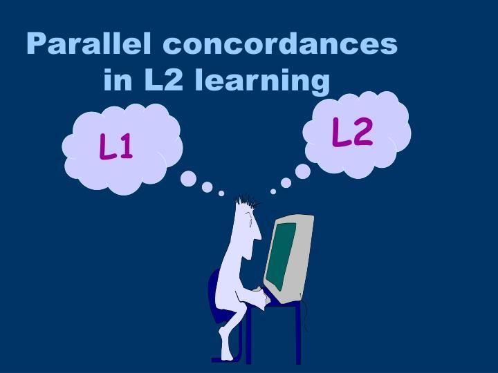 Parallel concordances