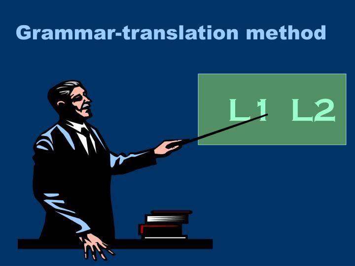 Grammar-translation method