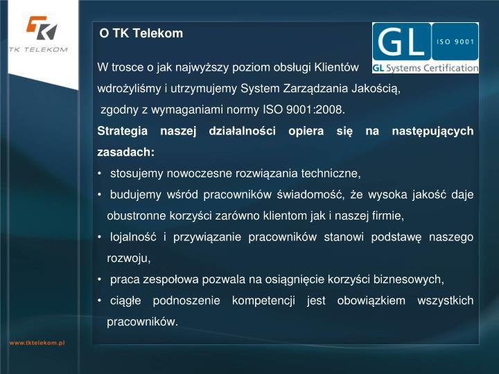 O TK Telekom