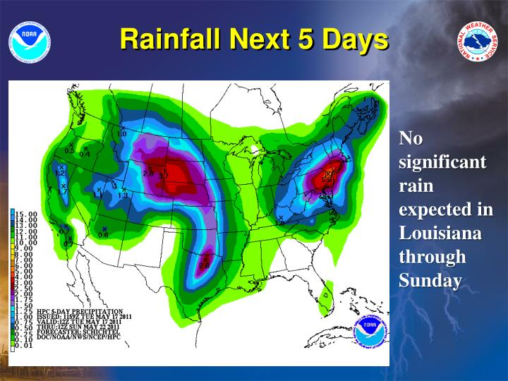 Rainfall Next 5 Days