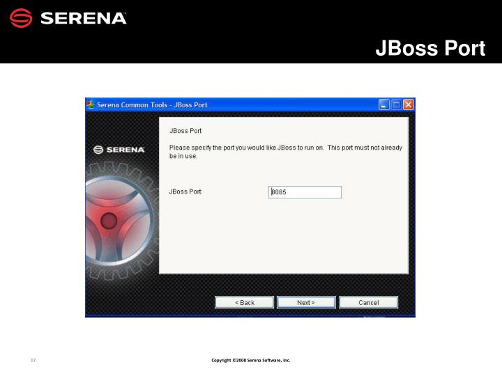 JBoss Port