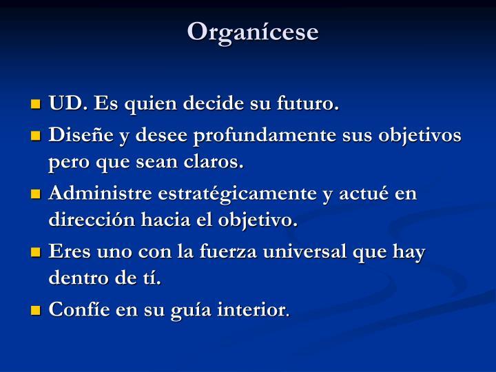 Organícese