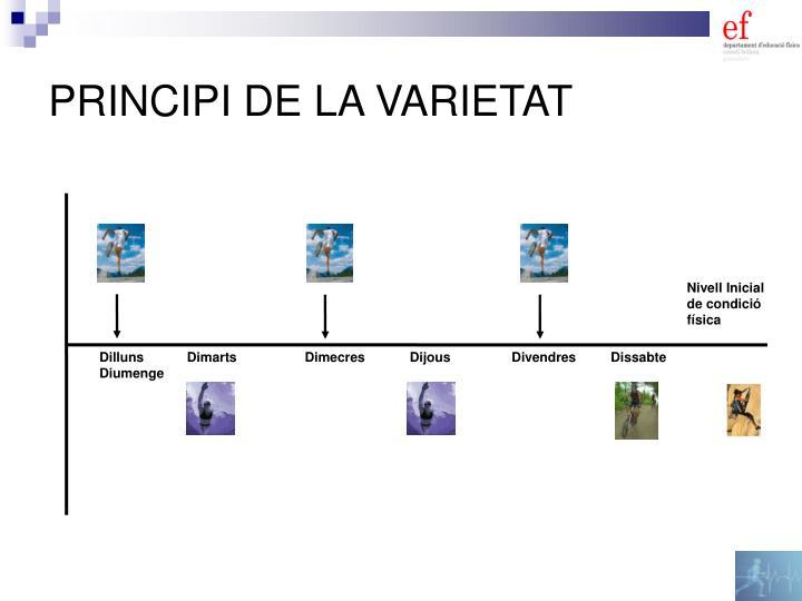 PRINCIPI DE LA VARIETAT
