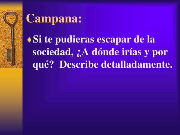 Campana: