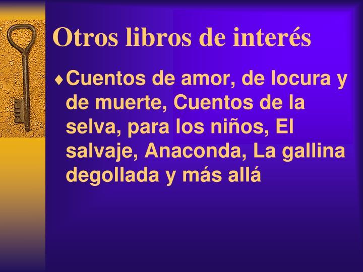 Otros libros de inter