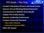 ypc goals this year