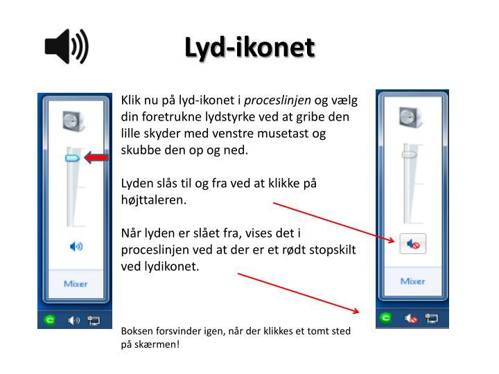 Lyd-ikonet
