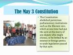 the may 3 constitution2