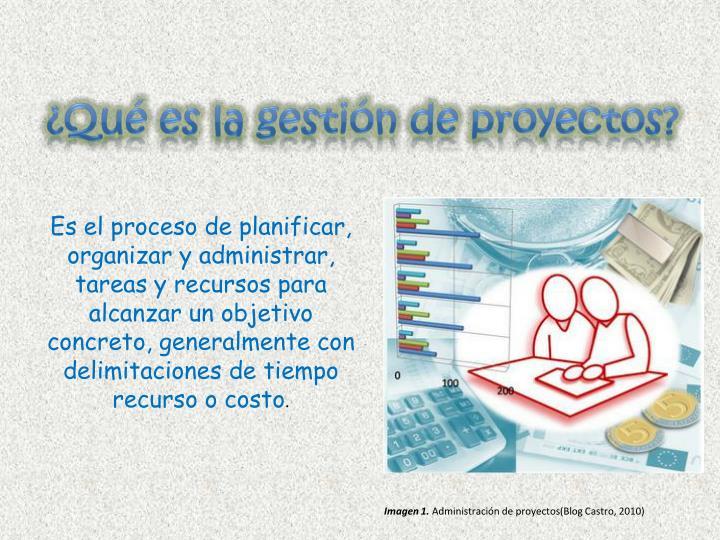 ¿Qué es la gestión de proyectos?
