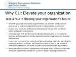 why gli elevate your organization
