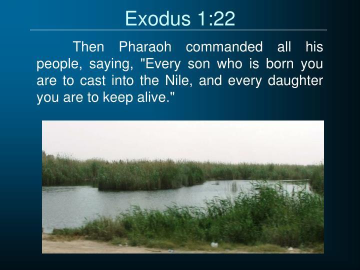 Exodus 1:22