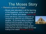 the moses story1