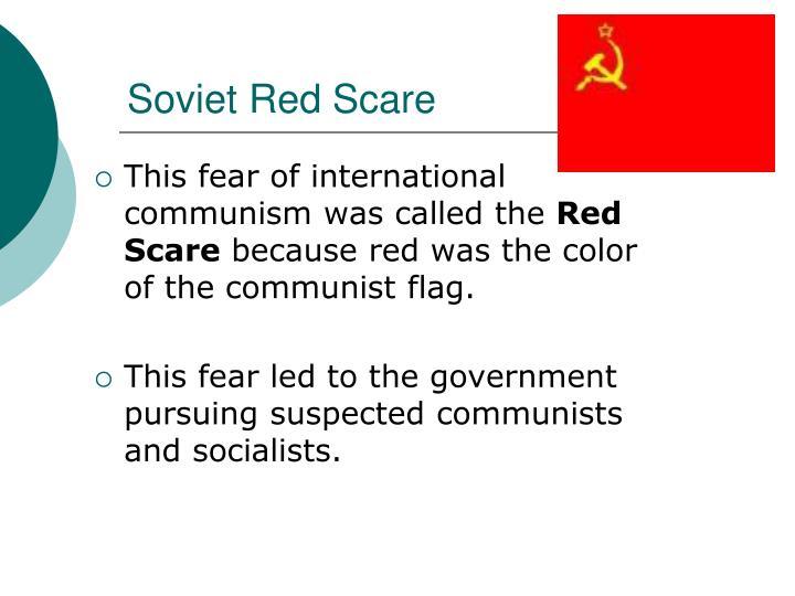 Soviet Red Scare