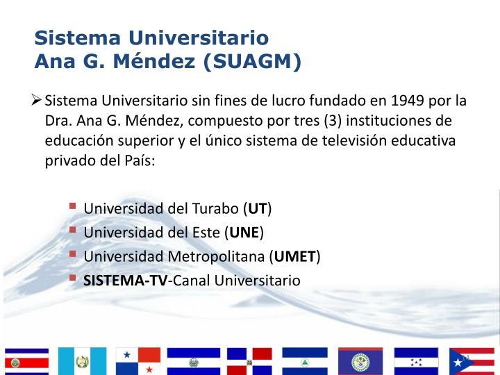 Sistema Universitario Ana G. Méndez (SUAGM)