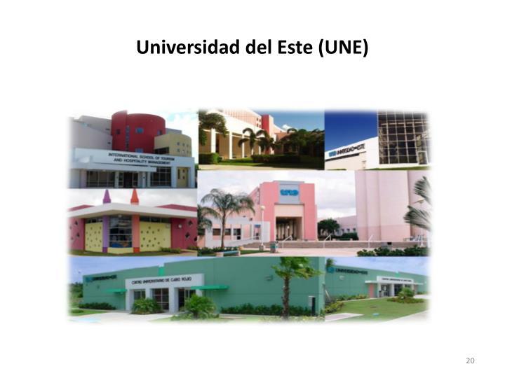 Universidad del Este (UNE)