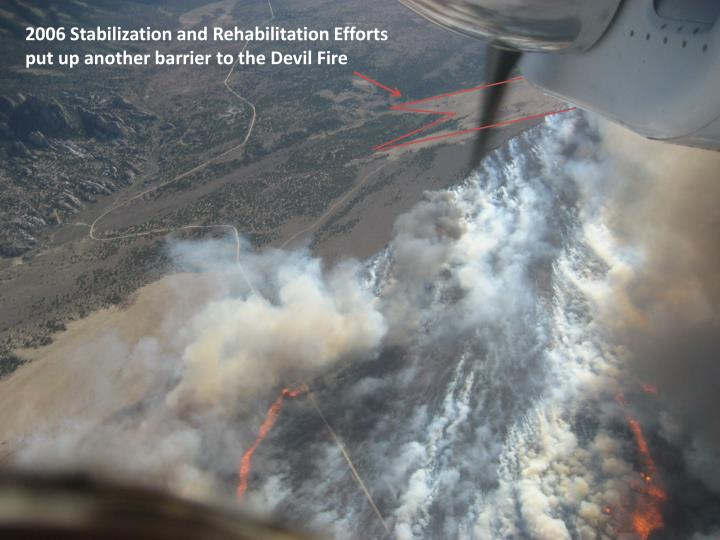 2006 Stabilization and Rehabilitation Efforts