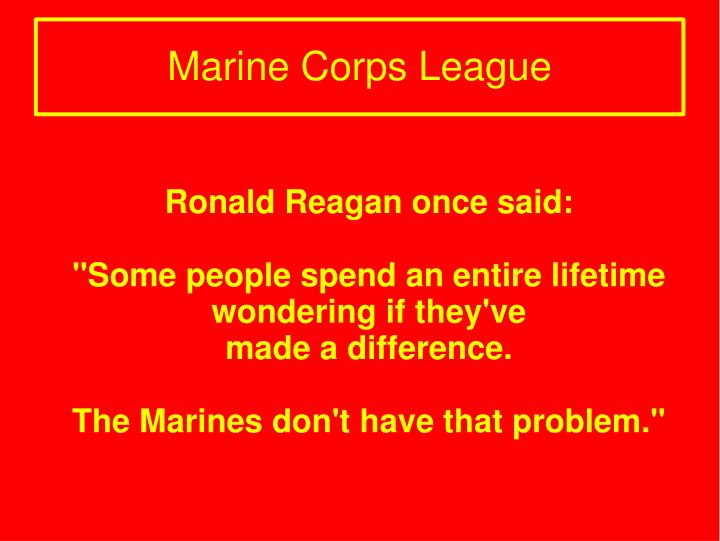 Ronald Reagan once said: