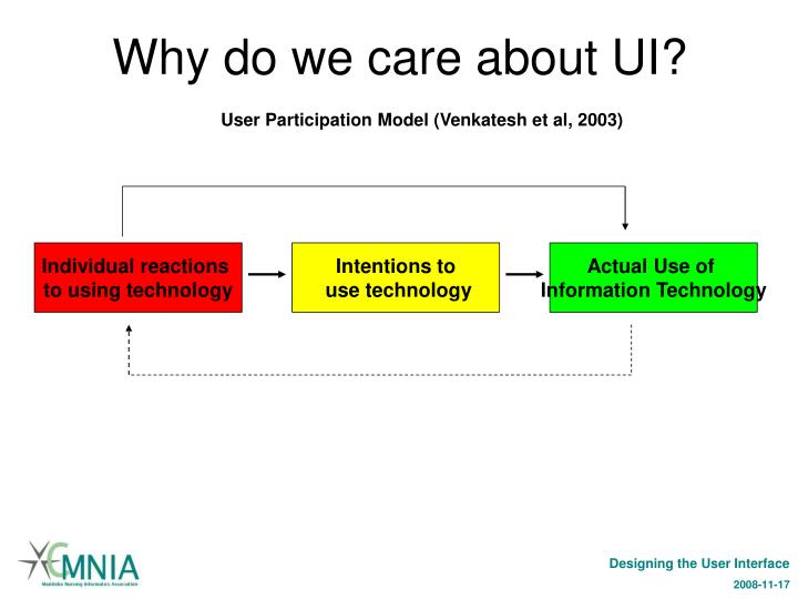 Why do we care about UI?