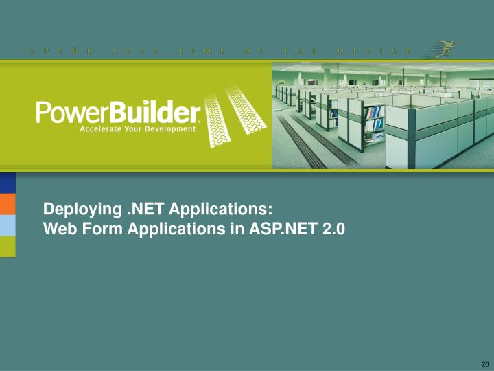 Deploying .NET Applications: